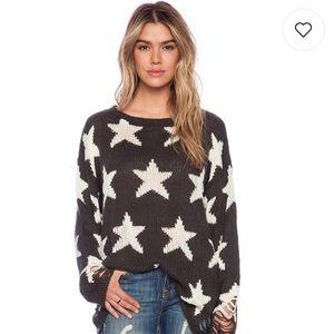 Black Seeing Stars Lennon Sweater